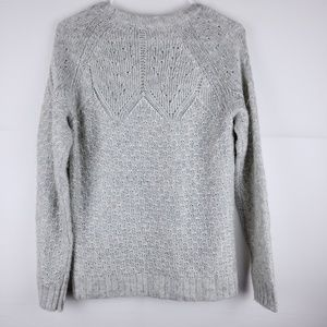 Talbots Sweaters - Talbots Knit Grey Long Sleeve Sweater Size Medium